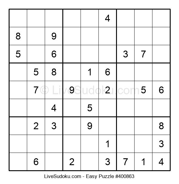 Beginners Puzzle #400863