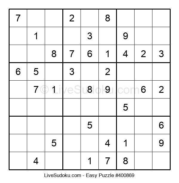 Beginners Puzzle #400869