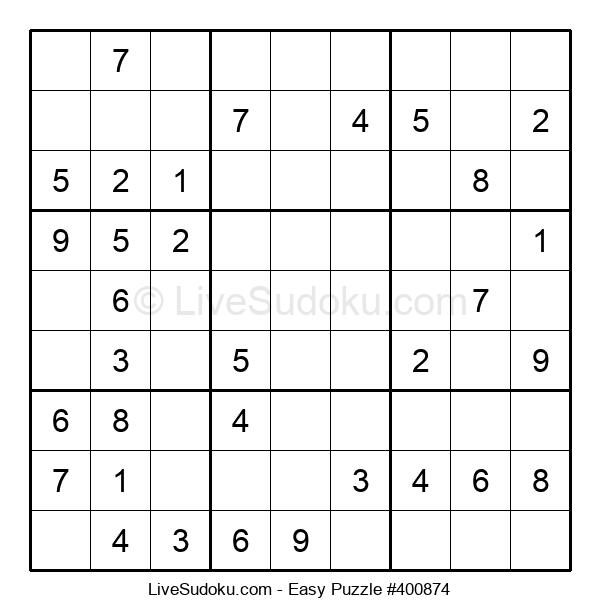 Beginners Puzzle #400874