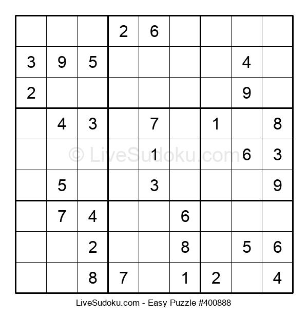 Beginners Puzzle #400888