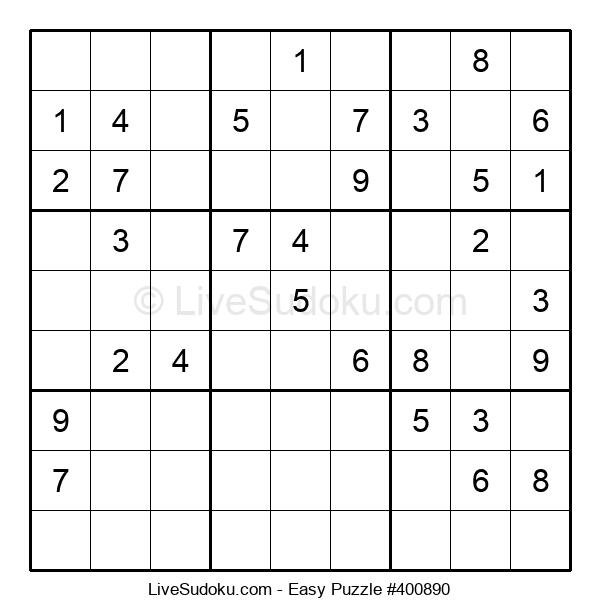 Beginners Puzzle #400890