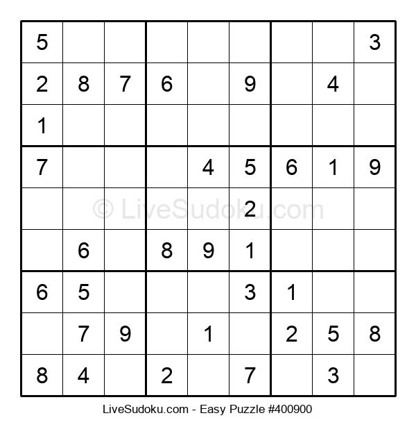 Beginners Puzzle #400900