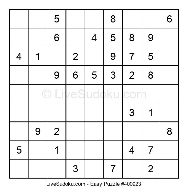 Beginners Puzzle #400923
