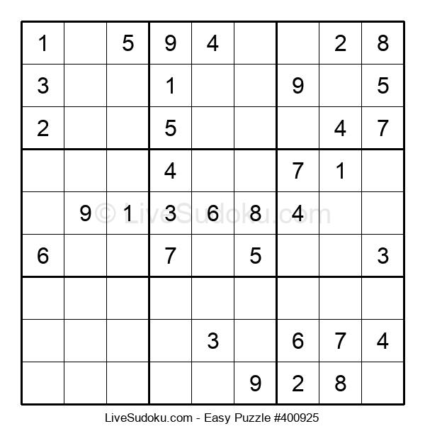 Beginners Puzzle #400925