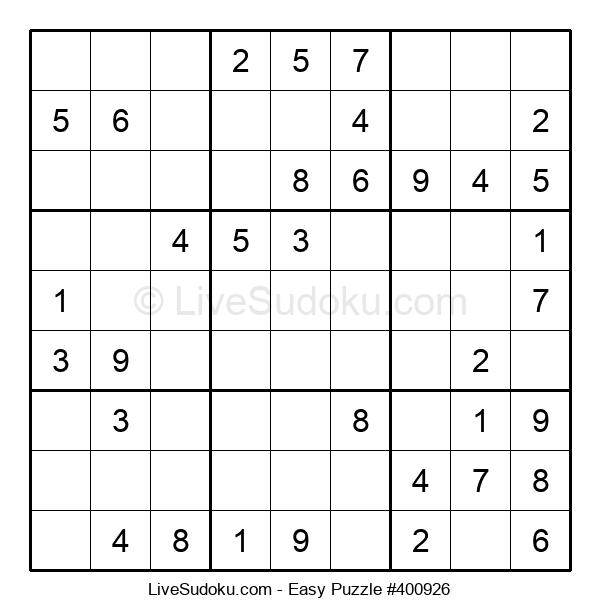 Beginners Puzzle #400926