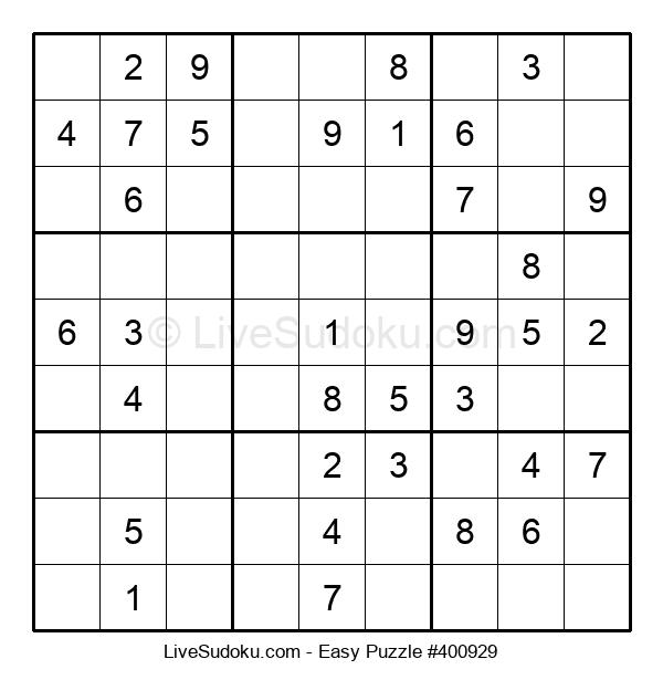 Beginners Puzzle #400929