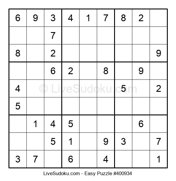 Beginners Puzzle #400934