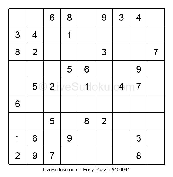 Beginners Puzzle #400944