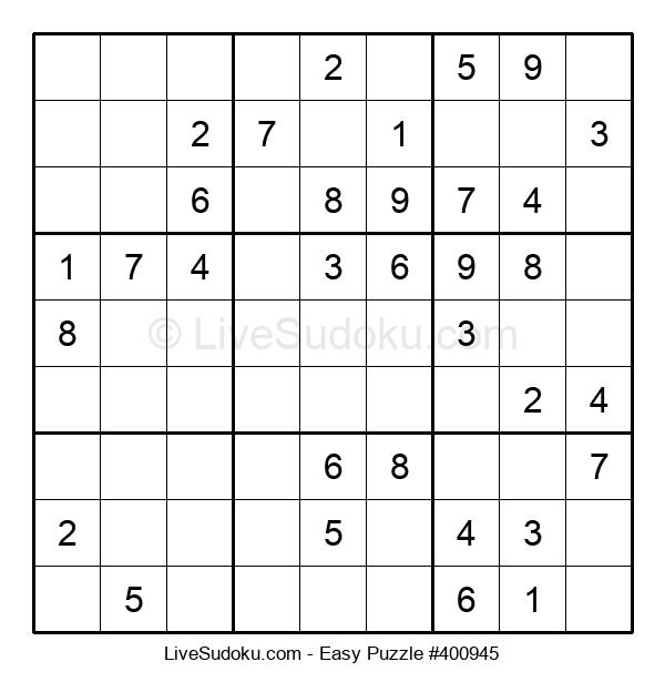 Beginners Puzzle #400945