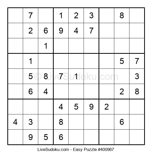 Beginners Puzzle #400967