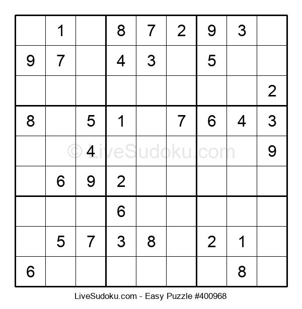 Beginners Puzzle #400968