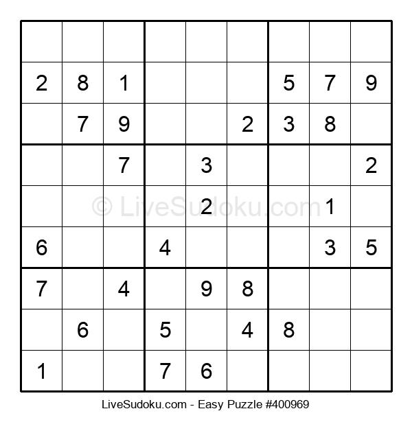 Beginners Puzzle #400969