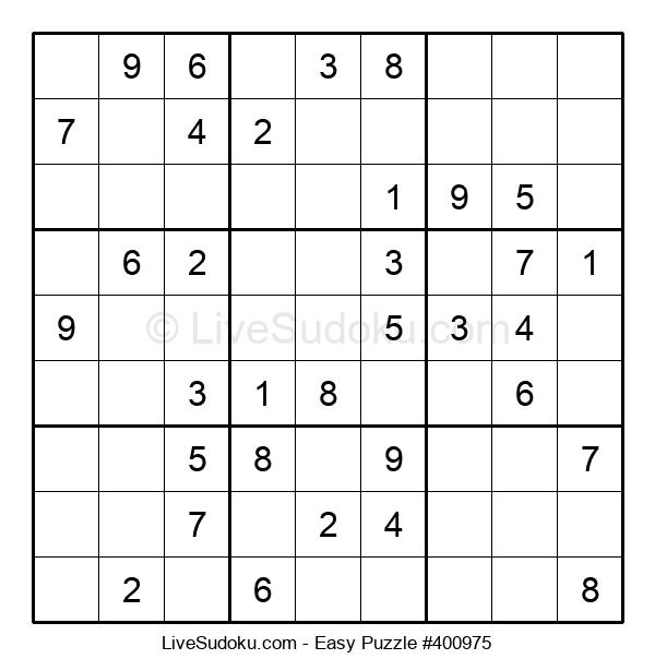 Beginners Puzzle #400975