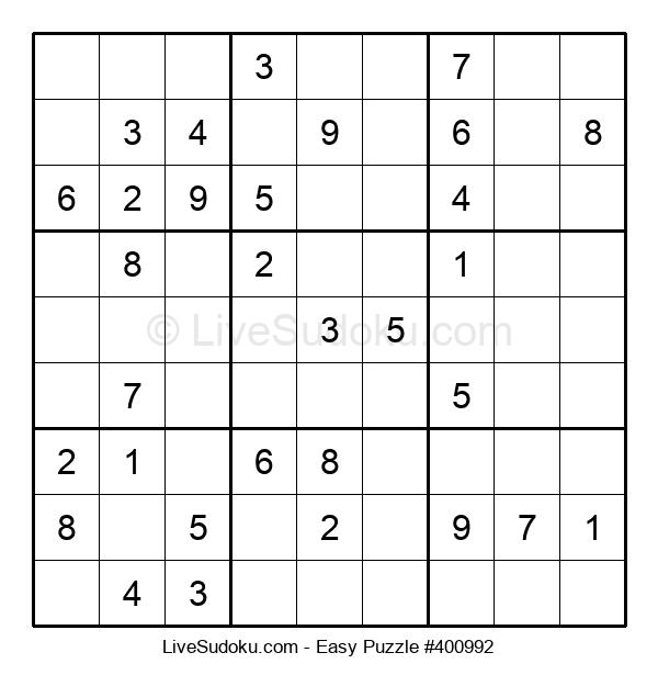 Beginners Puzzle #400992
