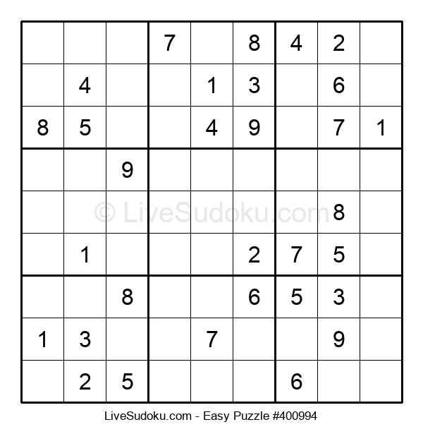 Beginners Puzzle #400994