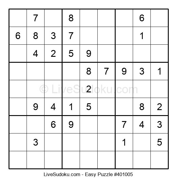 Beginners Puzzle #401005