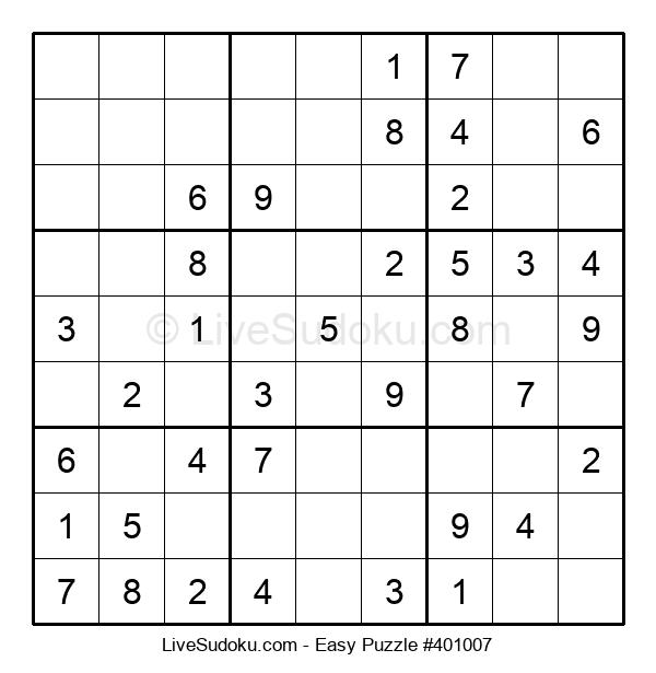 Beginners Puzzle #401007