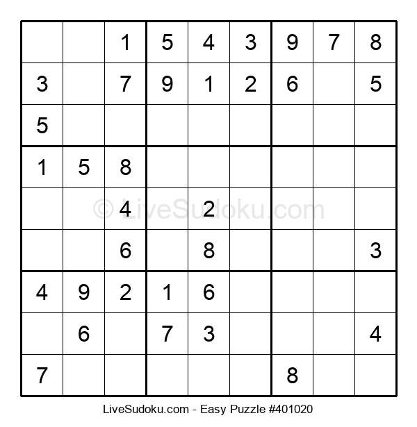 Beginners Puzzle #401020