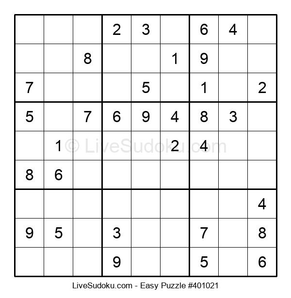 Beginners Puzzle #401021