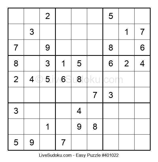 Beginners Puzzle #401022