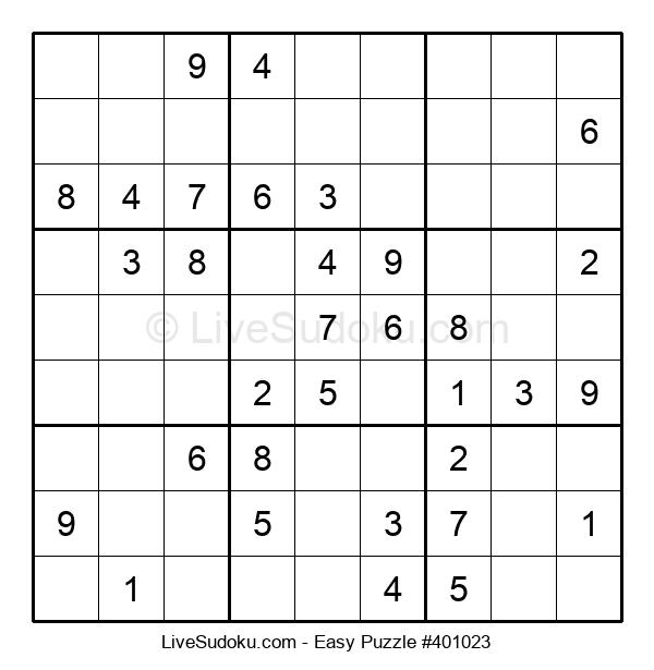 Beginners Puzzle #401023
