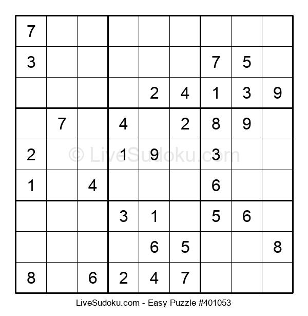 Beginners Puzzle #401053
