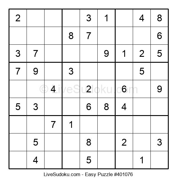 Beginners Puzzle #401076