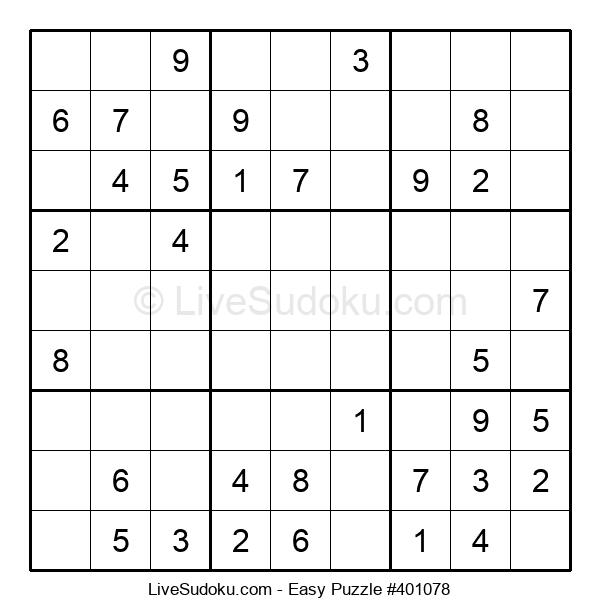Beginners Puzzle #401078