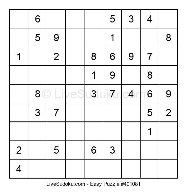 Beginners Puzzle #401081