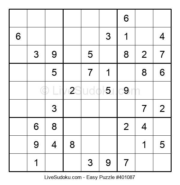 Beginners Puzzle #401087