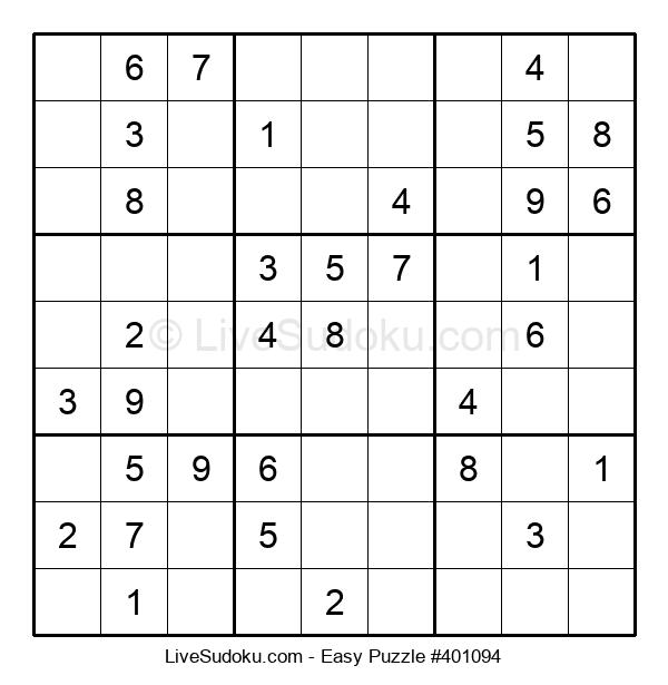 Beginners Puzzle #401094