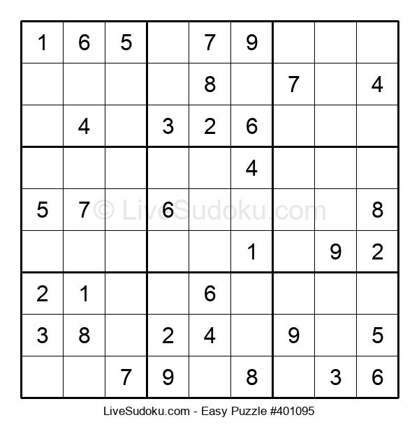 Beginners Puzzle #401095