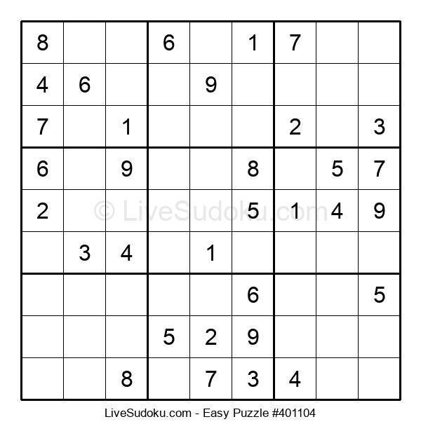 Beginners Puzzle #401104