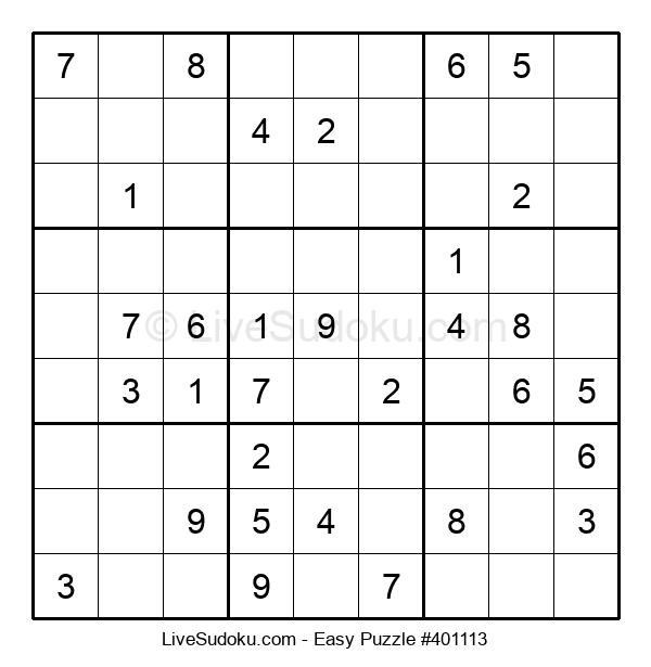 Beginners Puzzle #401113