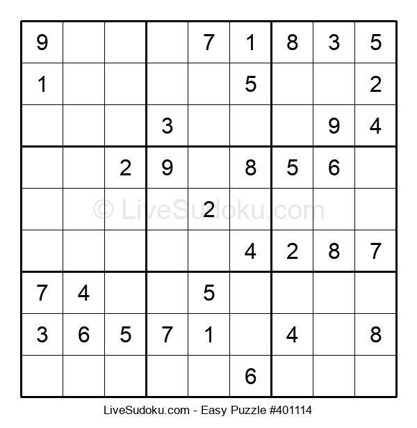 Beginners Puzzle #401114