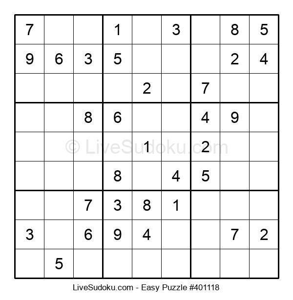 Beginners Puzzle #401118