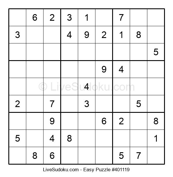 Beginners Puzzle #401119