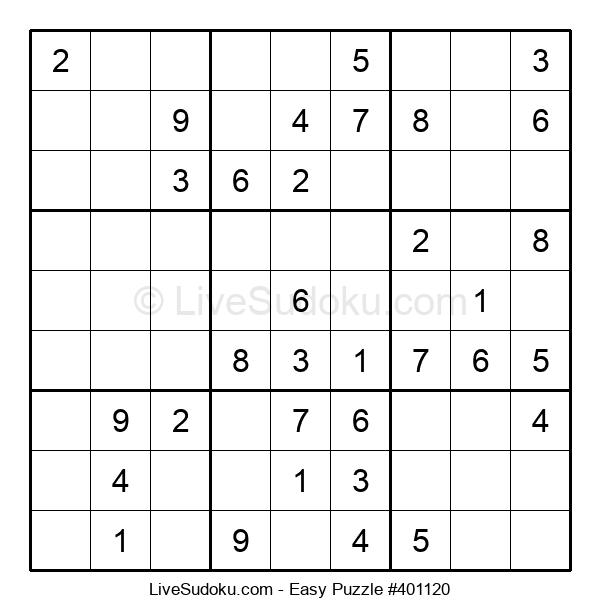 Beginners Puzzle #401120