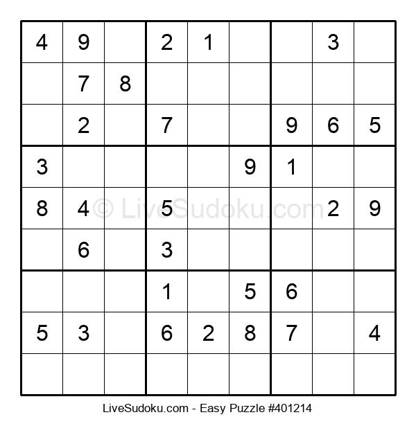 Beginners Puzzle #401214