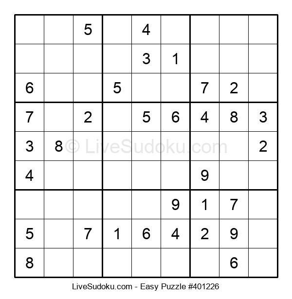 Beginners Puzzle #401226