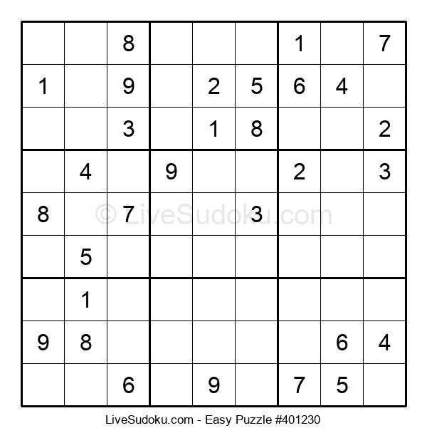Beginners Puzzle #401230