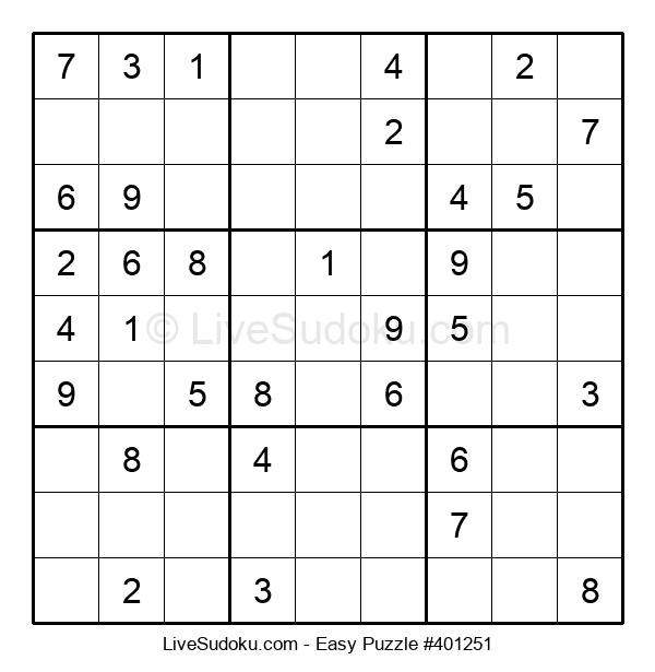 Beginners Puzzle #401251