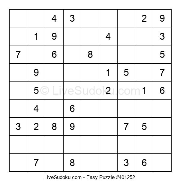 Beginners Puzzle #401252