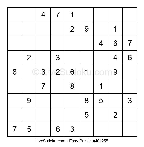 Beginners Puzzle #401255