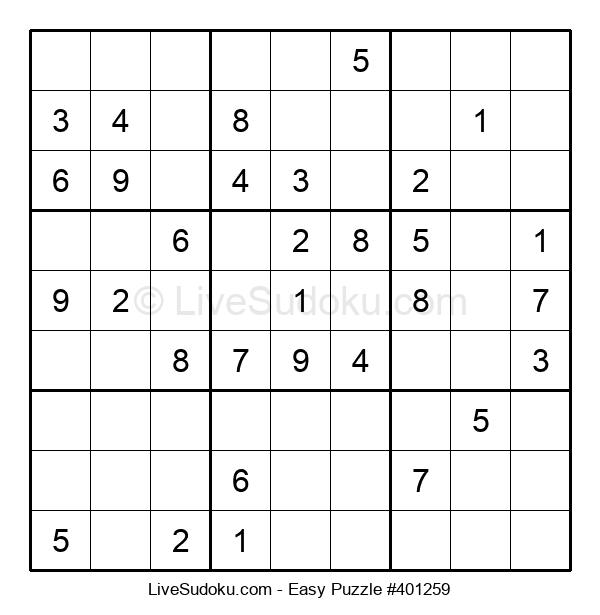 Beginners Puzzle #401259