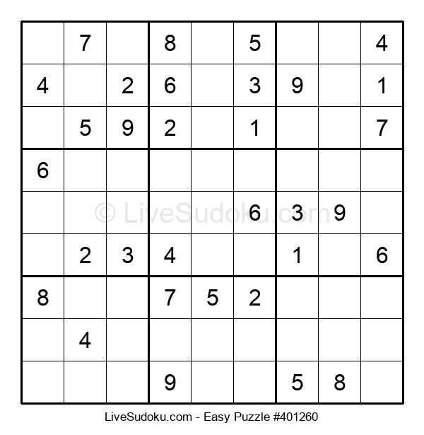 Beginners Puzzle #401260