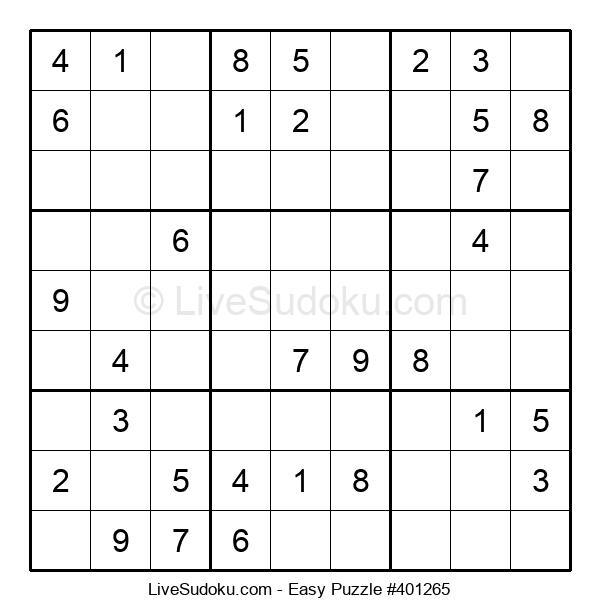 Beginners Puzzle #401265