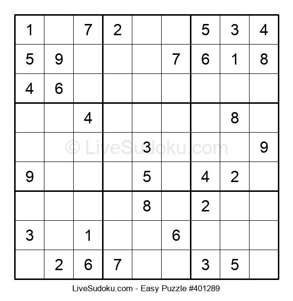 Beginners Puzzle #401289