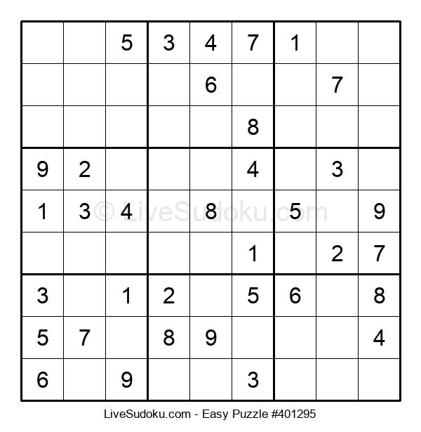 Beginners Puzzle #401295
