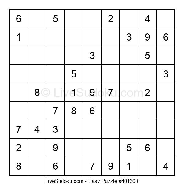 Beginners Puzzle #401308
